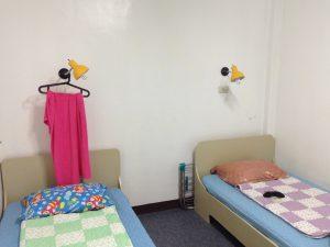 フィリピン留学の学生寮2人部屋